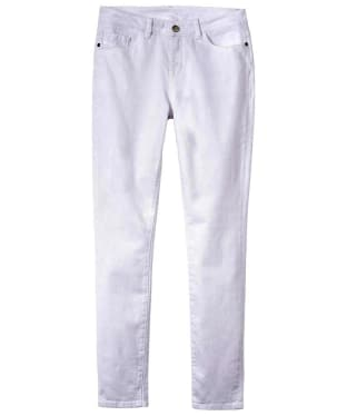 Women's Crew Clothing Skinny Jeans - Optic White