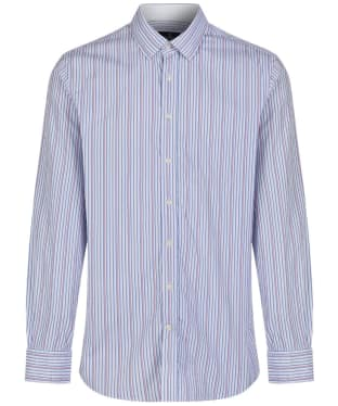 Men's Hackett Lolly Stripe Shirt - Blue / Pink
