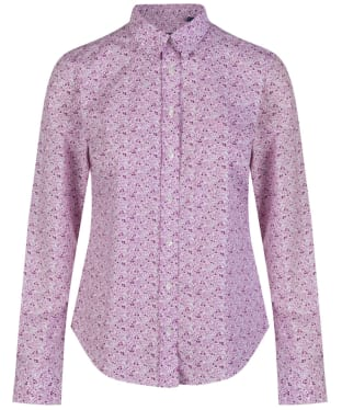 Women's GANT Mini Flower Shirt - Wild Aster