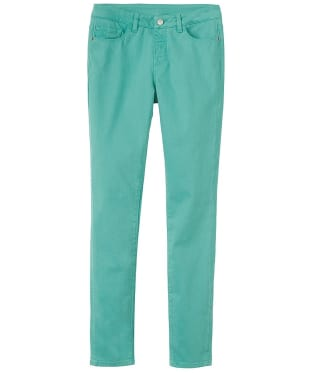 Women's Crew Clothing Coloured Skinny Jeans - Viridian Green