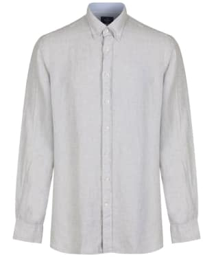 Men's Hackett Plain Linen Shirt