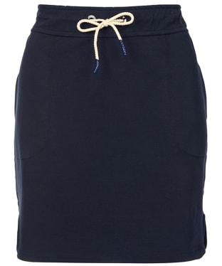 Women's Barbour Renishaw Skirt - Navy