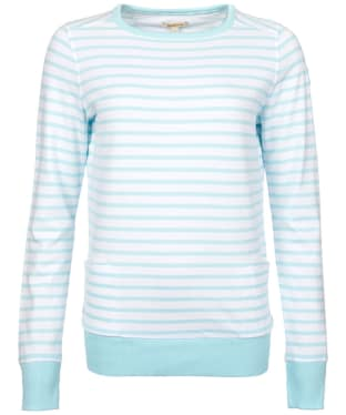 Women's Barbour Berkley Sweatshirt - Aqua