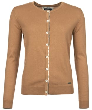 Women's Barbour Hamerley Cardigan - Hessian