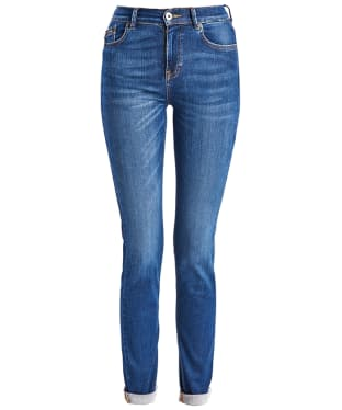Women's Barbour International Broton Slim Jeans - Triworn Blue