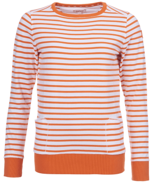 Women's Barbour Berkley Sweatshirt - Marigold