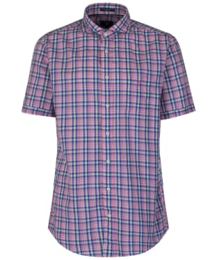 Men's GANT Short-Sleeved Albatross Shirt - Lipstick Pink