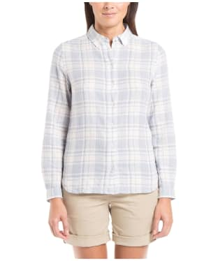 Women's Aigle Fieldsand Check Shirt - Wave Check