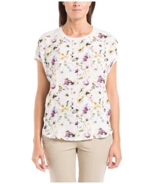 Women's Aigle Moresea T-Shirt - Jasmin Print