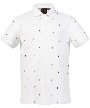 Men's Musto Scattered Polo - White