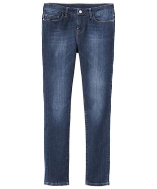 Women's Crew Clothing True Skinny Jeans - Mid Indigo