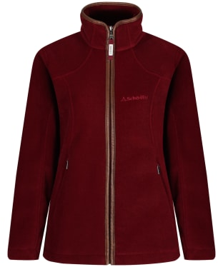 Women's Schoffel Burley Fleece Jacket - Ruby
