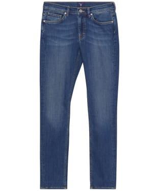 Women's GANT Classic Denim Jeans - Mid Blue