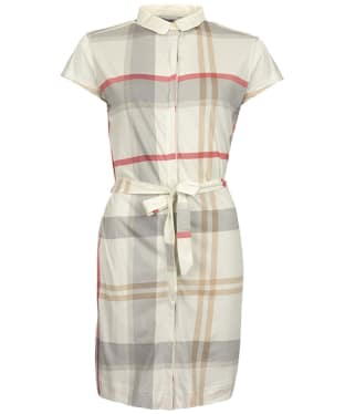Women's Barbour Ewan Dress - Summer Dress Tartan