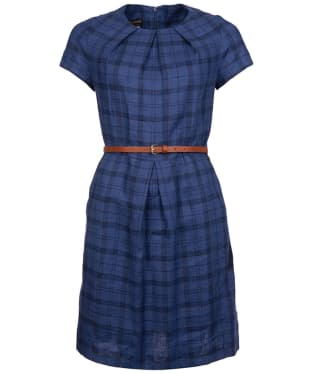 Women's Barbour Iona Dress - Mid Navy