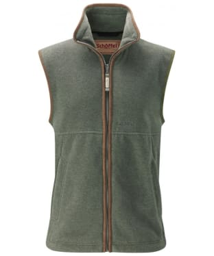 Men's Schoffel Oakham Fleece Gilet - Lincoln Green