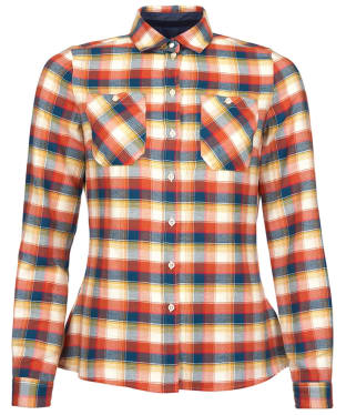 Women's Barbour Chock Shirt - Red Check