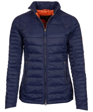 Women's Barbour Chock Quilted Jacket - Navy