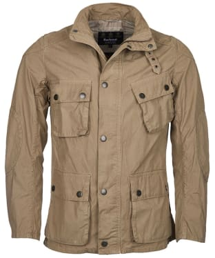Men's Barbour International Smokey Tailored Jacket - Stone