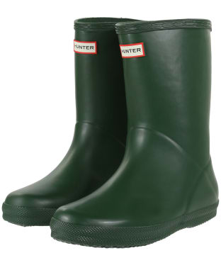 Hunter Kids First Classic Wellington Boots - Hunter Green