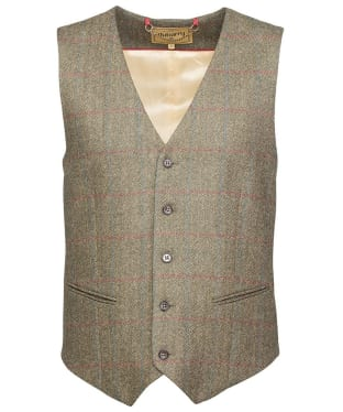 Men's Dubarry Cedar Tweed Waistcoat - Moss