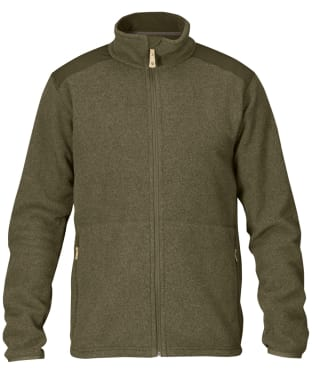 Men's Fjallraven Sten Fleece - Dark Olive
