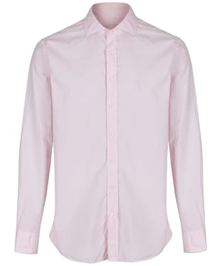 Men's Hackett Garment Dyed Slim Shirt - Light Pink