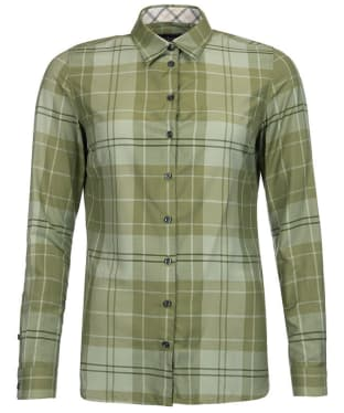 Women's Barbour Ewan Shirt - Laurel Green