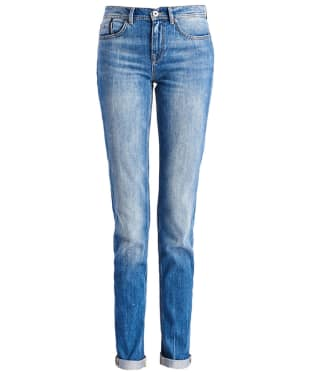 Women's Barbour International Farleigh Girlfriend Jeans - Classic Flat