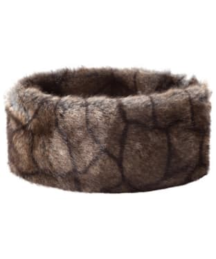 Women's Dubarry Faux Fur Headband - Elk