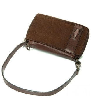 Women's Dubarry Emyvale Leather Purse and Phone Case - Walnut
