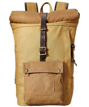 Filson Roll Top Backpack - Tan