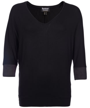 Women's Barbour International Kleeton Top - Black