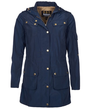 Women's Barbour International Delter Casual Jacket - Navy