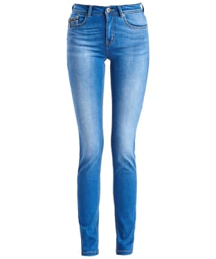 Women's Barbour International Fandor Skinny Jeans - Surf Blue