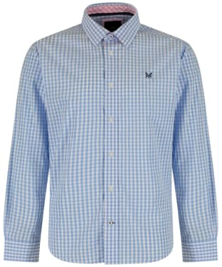 Men's Crew Clothing Classic Gingham Shirt - Sky