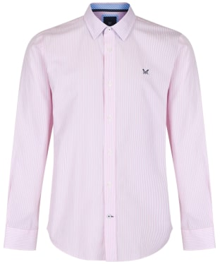 Men's Crew Clothing Classic Stripe Shirt - Classic Pink