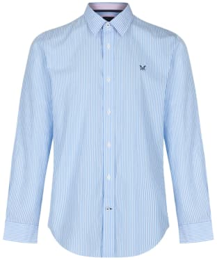 Men's Crew Clothing Classic Stripe Shirt - Sky