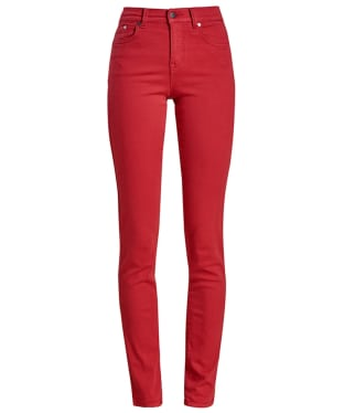 Women's Barbour Essential Slim Trousers - Dahlia