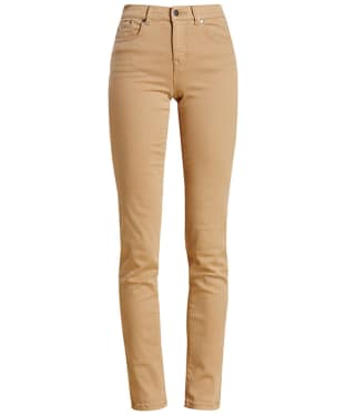 Women's Barbour Essential Slim Trousers - Hessian