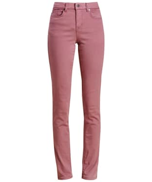 Women's Barbour Essential Slim Trousers - Ice Rose