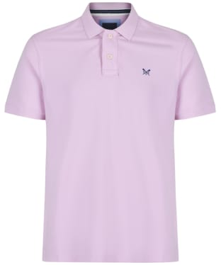 Men's Crew Clothing Classic Pique Polo Shirt - Classic Pink