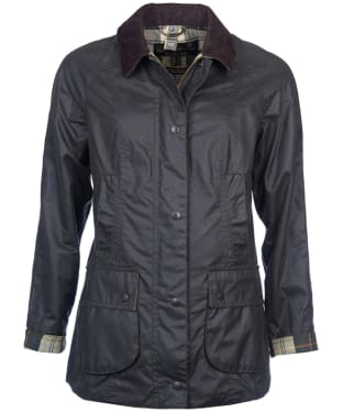 Women's Barbour Beadnell Wax Jacket - Sage