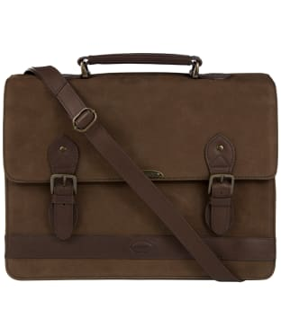 Dubarry Belvedere Leather Brief Bag - Walnut