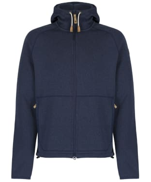Men's Fjallraven Ovik Fleece Hoody - Navy