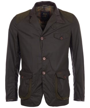 Men's Barbour Beacon Sports Jacket - Olive