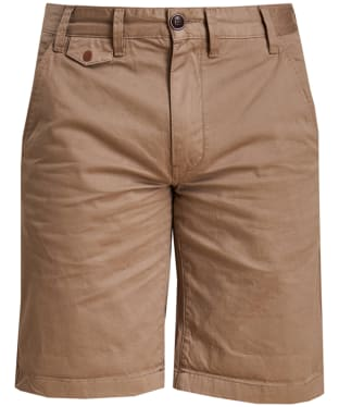 Men's Barbour Neuston Twill Shorts - Stone