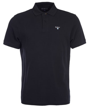 Men's Barbour Sports Polo 215G - Black