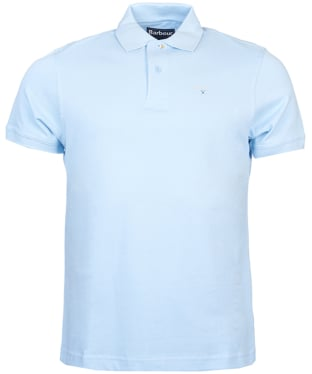 Men's Barbour Sports Polo 215G - Sky