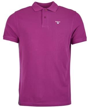 Men's Barbour Sports Polo 215G - Royal Purple